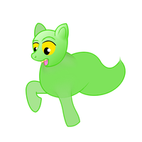 Slimer: The Pony Ghost! by meganschmidt