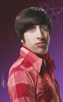 The Big Bang Theory - Howard by ArchXAngel20