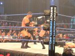Roode: Chairshot to Anderson's back by KnightNephrite