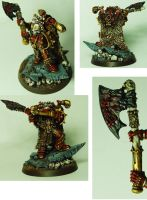 Khorne Lord Finished by cyphercodicer2