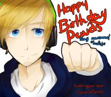 HAPPY BIRTHDAY PEWDS!! by ChocoGumi