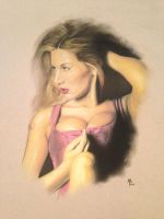 Untitled-finished pastel painting by abraun