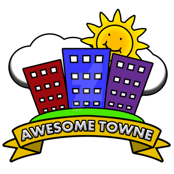 Awesome Towne logo by MagicWazard