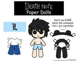 L paper Doll by Malindachan