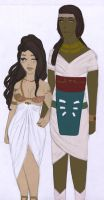 Ref | Miana and Nekhtou by StrawberriOnTop