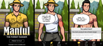 Manful: The Forest Ranger by humbuged