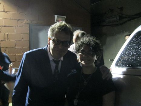 with Greg Proops by 666pyrocharmedgirl