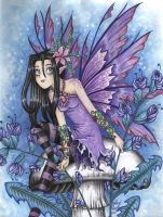 Purple Fairy by vashley
