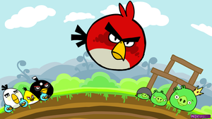Angry Birds by PainterBits by PainterBits