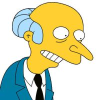 Simpsons GrabPic - Mr Burns by chocolatedozycow