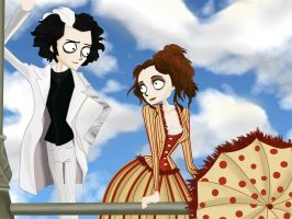 sweeney todd by kirachel