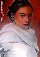Padme Sketch Card 5 by RandySiplon