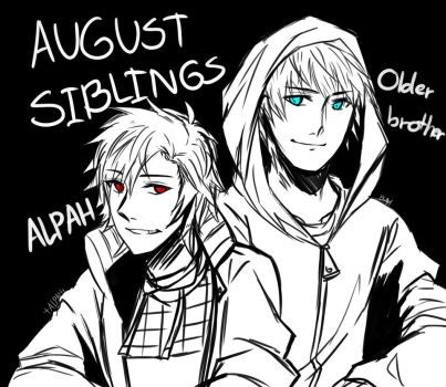 The August Siblings! by CharlotteAlpha