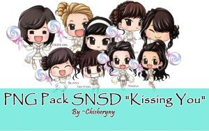 PNG Pack SNSD Kissing You by ArdeliaExotics