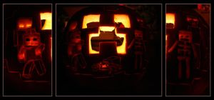 Minecraft Pumpkin by Dr-TinyFox