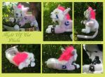Night Elf Cat Plush by Samurai-Akita