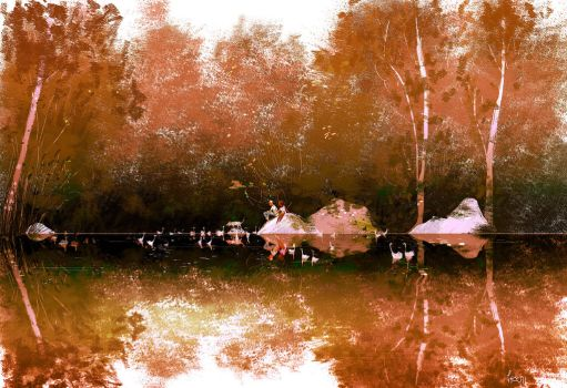 Pond Side by PascalCampion