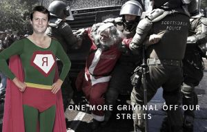 Santa Clause arrested this Christmas by ctomuta