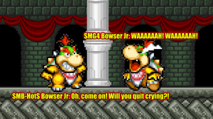 SMBHotS Bowser Jr Meets SMG4 Bowser Jr by KingAsylus91