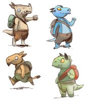 goblin game concept art by ragweed