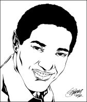 SAM COOKE INK by Artistik-Bootya