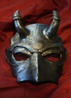 BELTANE MASK in pewter finish by Faust-and-Company