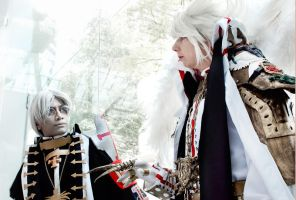 Trinity Blood: Abel + Cain by wisecraxx