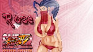 Rose SSFIV by DragonLord720