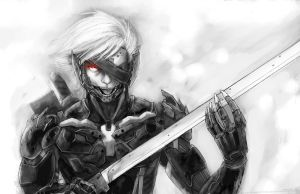 The Ripper - Metal Gear Rising by slifertheskydragon