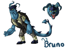 Neopets: Bruno by Hazelthedragoness