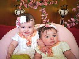 Hinamatsuri Baby Dresses by aimeekitty