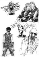 Judas Priest skadiddle scribbles by the-ChooK