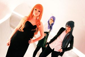 Macross Frontier - Alto, Sheryl and Grace by TheCarebearFag