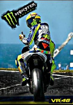Monster energy Valentino by MIGUELF22