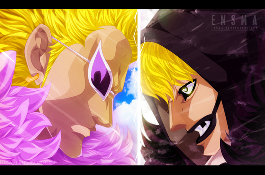 corazon x doflamingo - One Piece by Ensma