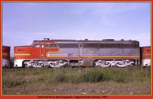 Santa Fe PA1 by classictrains