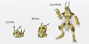 Early Bug Set 2 by Either-Art