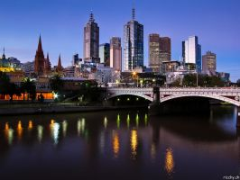Melbourne by ricchy