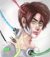 Cyborg Eren by ColorGush