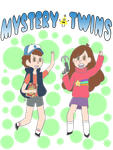 Mystery Twins by CakeMonster44