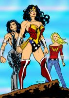 Wonder Women Colors by Heerog