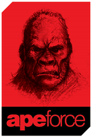 ApeForce Tee Design by Cameron-Schuyler