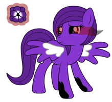 OC: Violet Haze the Pegasus by SilverRomance