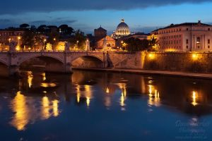 Ponte Sant'Angelo by Dave-Derbis