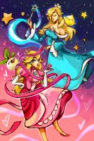 Peach Rosalina by ohmonah