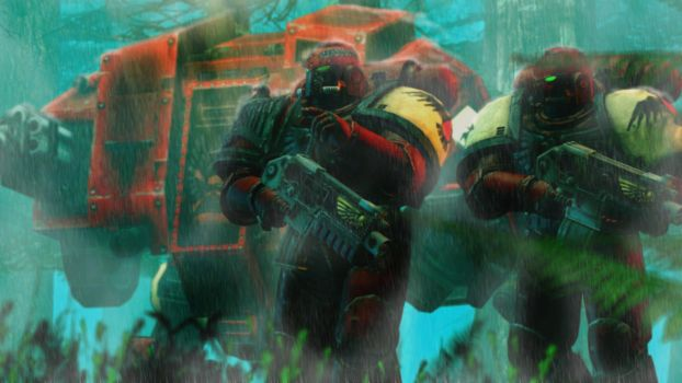 The Next Objective ::Warhammer 40k:: by guywiththesuitcase