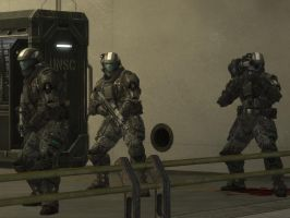halo reach: ODST by purpledragon104