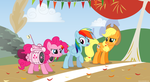 Running of the Leaves 2 - PNG by Larsurus