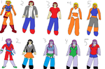 molly and artimis clothes sheet by exodd