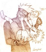Kakashi babysitter chronicl.2 by Sanzo-Sinclaire